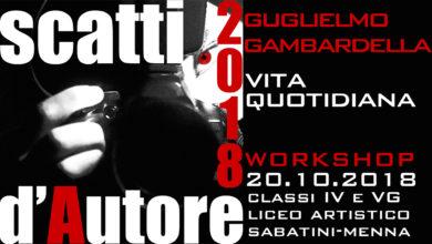 Photo of Scatti d'Autore 2018: il workshop di Guglielmo Gambardella all'Arco Catalano di Palazzo Pinto a Salerno