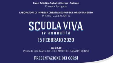 Photo of Scuola Viva al Liceo Artistico Sabatini Menna di Salerno