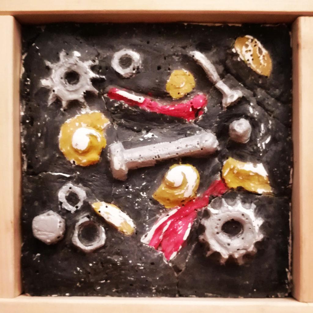 L'arte di Lello Cicalese: Tanatocenosi fossile